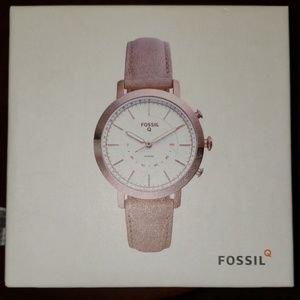 Fossil Neely Bone leather hybrid smartwatch
